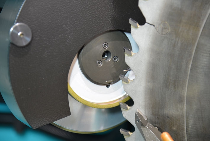 Sharpener for circular blades